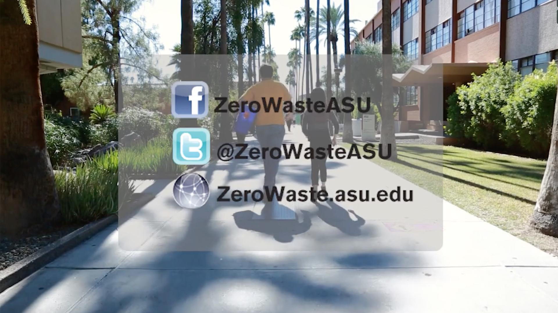 Social media links for Zero waste