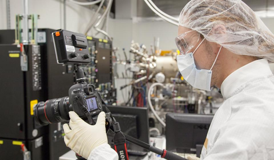 Shooting in a lab